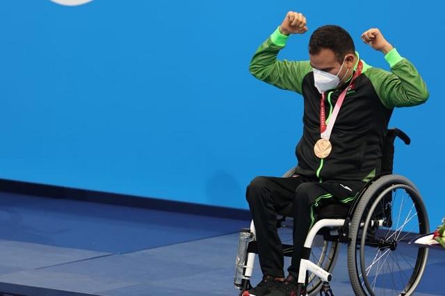 Diego López consigue el bronce en sus primeros Juegos Paralímpicos