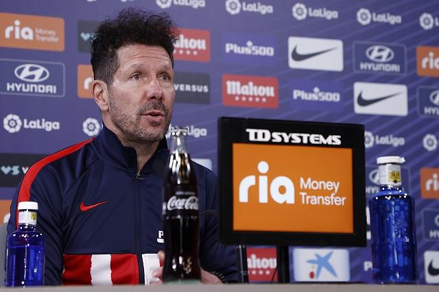 Simeone reconoce que han extrañado a Héctor Herrera en el Atleti