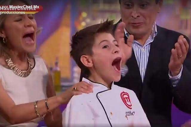 Así se ve Diego, ganador de MasterChef Junior 2017