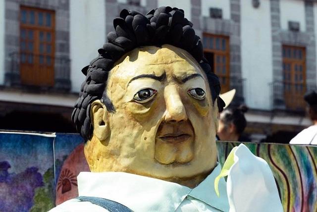Dedica la UNAM ofrenda a Diego Rivera y la Catrina lo acompaña