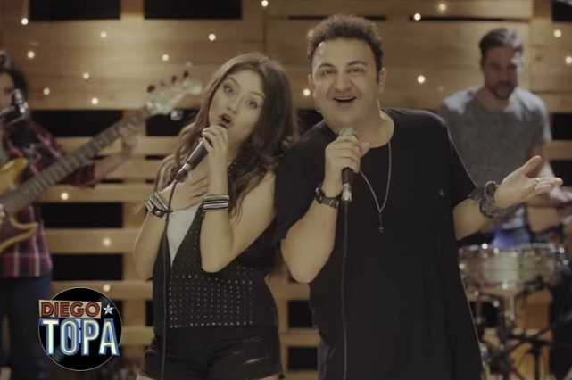 El día que el Capitán Topa y Karol Sevilla cantaron juntos