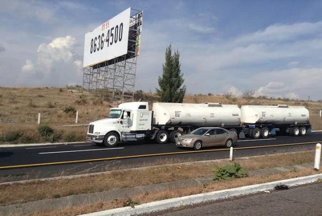 Indagan en Puebla calidad de diesel para flota camiones
