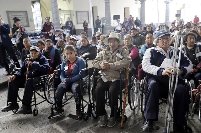 Demandan ampliar cobertura de pensión para discapacitados