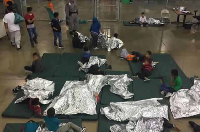 Difunden audio del llanto de niños migrantes que fueron separados de sus padres