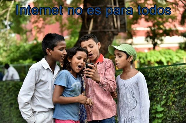 Cambio digital desigual e injusto en el mundo