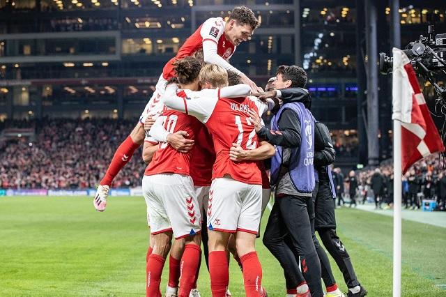 ¡Una más! Dinamarca se apunta al Mundial de Catar 2022