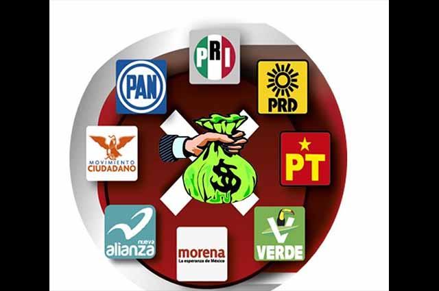 Partidos deben regresar 37.4 mdp no gastados en Puebla
