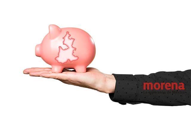Dan más dinero para seguridad a municipios de Morena en Puebla