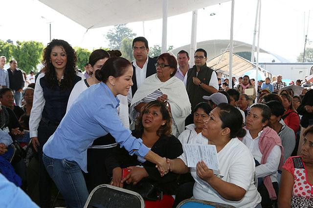 Destaca López de Gali colaboración en acciones de salud