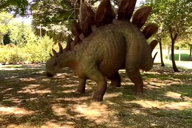 Parque Jurásico en la comodidad de tu hogar: Dinosaurios en 3 D con google