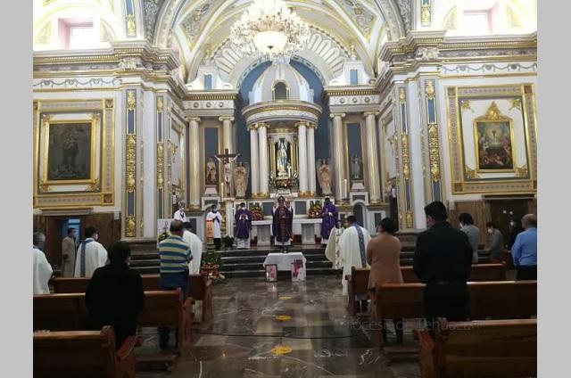 Diócesis de Tehuacán continua con misas en línea hasta nuevo aviso