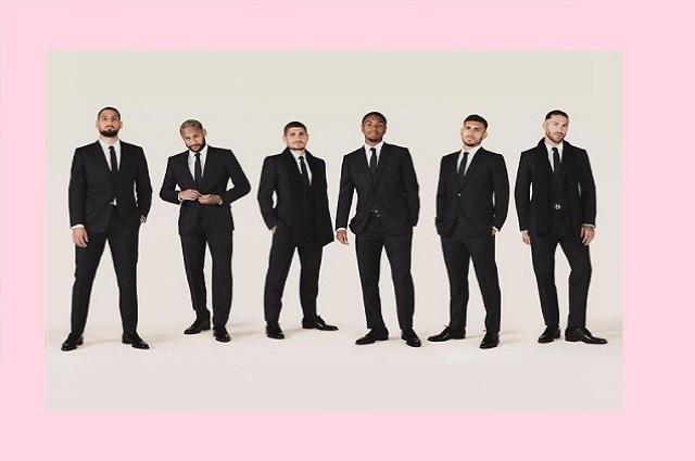 Dior se presenta como el sastre oficial del equipo PSG