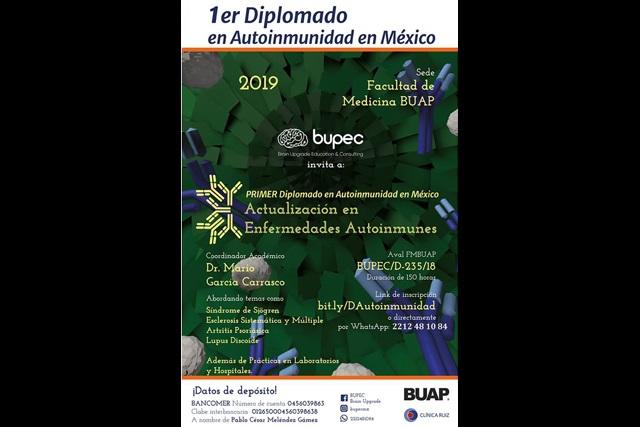 En Medicina BUAP, primer Diplomado de Autoinmunidad en México