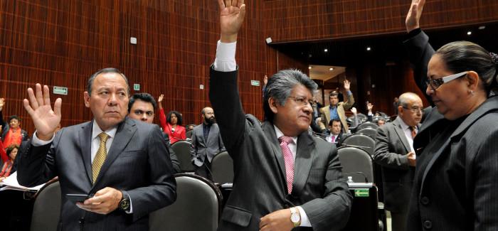 Diputados del PAN, PRD y Morena impugnan la Ley de Seguridad Interior