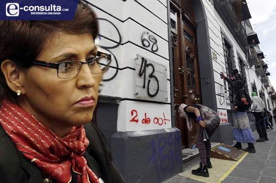 Recula diputada que pretendía criminalizar la protesta en Puebla