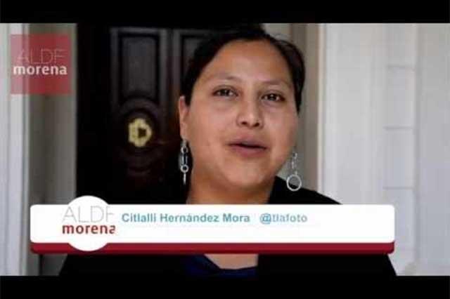 Diputada de Morena podría estar vinculada a presuntos criminales