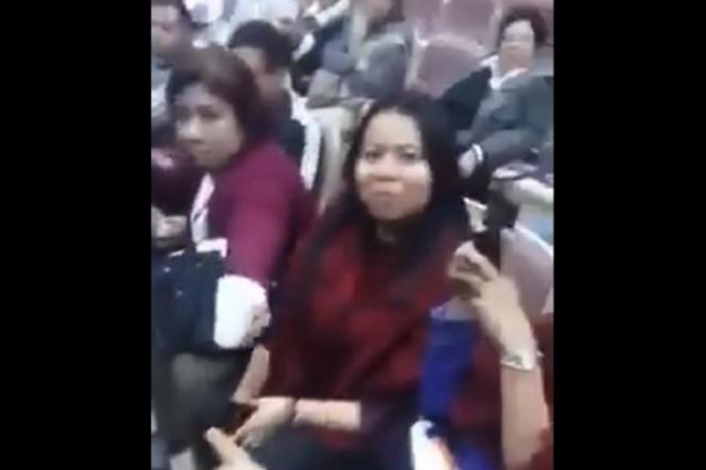 Diputada desmiente que haya estado bebiendo en el Congreso de Sinaloa