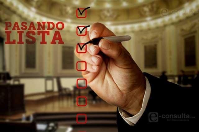 No hay voluntad en el Congreso para hacer descuentos a faltistas: Quezada
