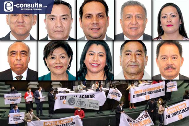 Votan 15 de 22 diputados poblanos por desaparecer fideicomisos