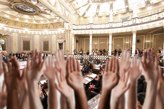 Ahora quieren a 2 diputados pluris más en el Congreso de Puebla