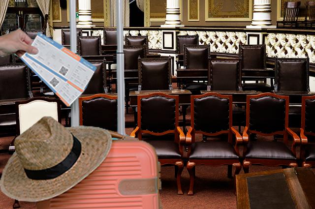 Diputados salen de vacaciones con el 83% de iniciativas congeladas