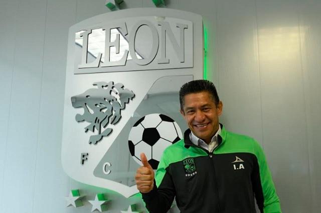 Llega Ignacio Ambriz como DT del León