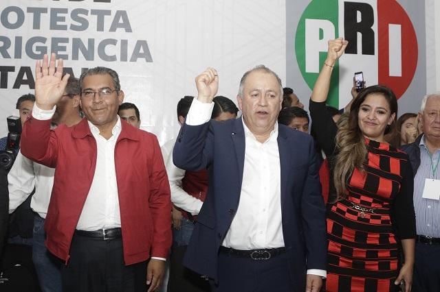 Lorenzo Rivera le abre a Armenta las puertas del PRI