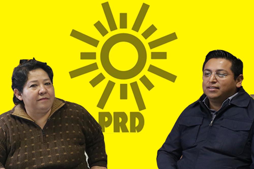 Arman coordinadora estatal del PRD con representantes de 5 tribus