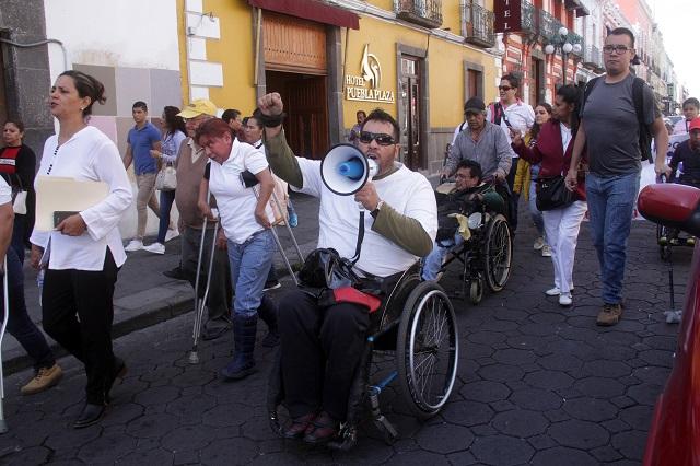 Discapacitados demandan al Congreso ley de inclusión laboral