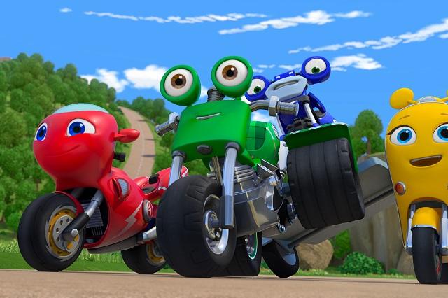 Discovery Kids estrena nueva temporada de Ricky Zoom