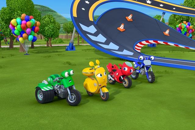 Estrenan nuevos episodios de Ricky Zoom en Discovery Kids