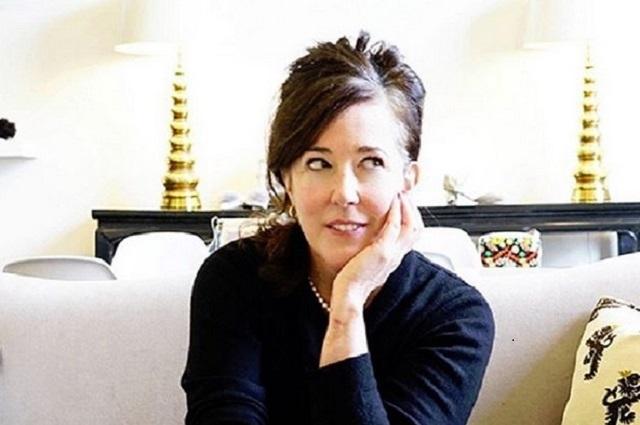 Con nota de suicidio, hallan sin vida a la diseñadora Kate Spade