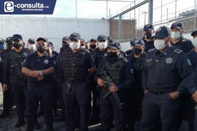 Por fuga de información, policía estatal desplaza a municipales en Tehuacán