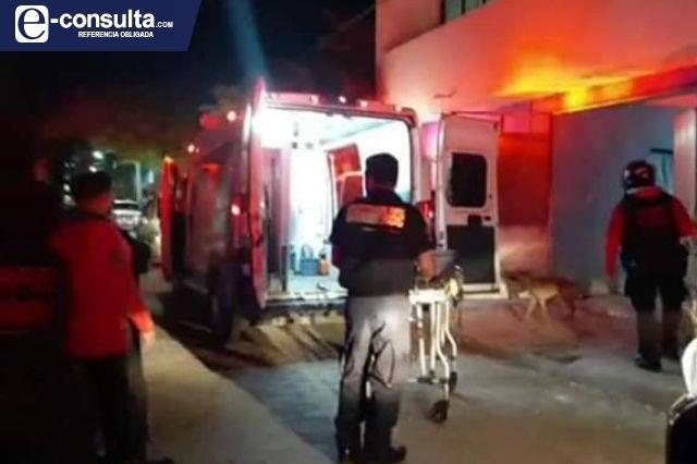 Adolescente recibe descarga eléctrica en Tehuacán; su salud se reporta grave
