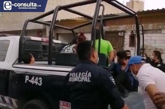 Por riña y balazos clausuran bar clandestino en Tehuacán