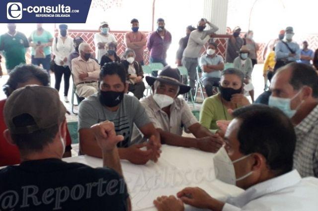 Sigue disputa entre familia Artasánchez y colonos de El León en Atlixco
