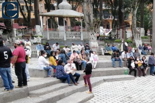 Paran labores sindicalizados del ayuntamiento de Huauchinango