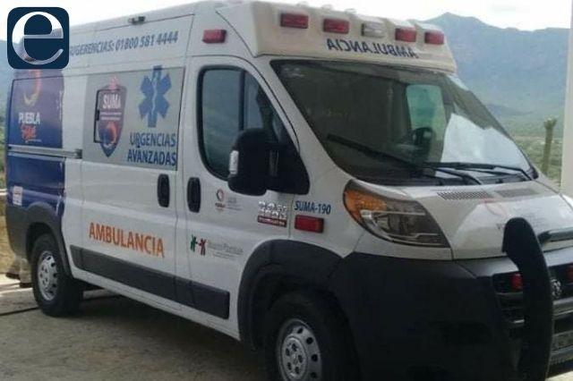 Ajalpan podría finalizar colaboración con ambulancia de SUMA