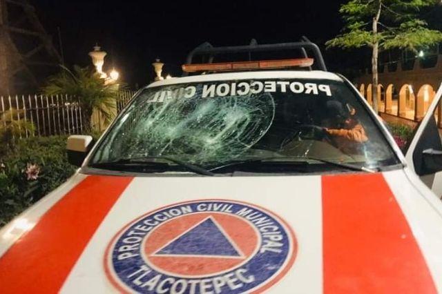 Por robo del equipo profesional en Tlacotepec proliferan los incendios