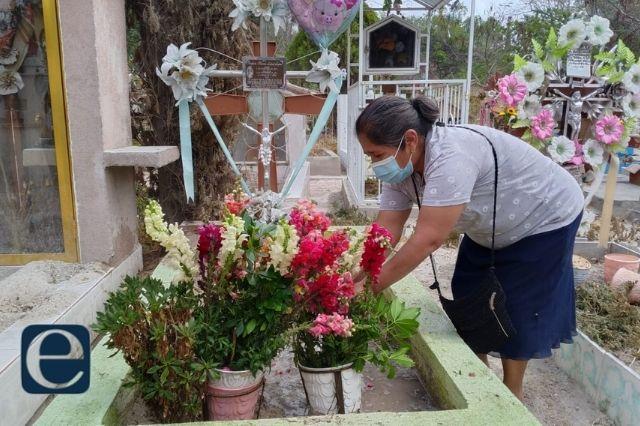 Aunque abrieron los panteones de Tehuacán registraron pocas visitas