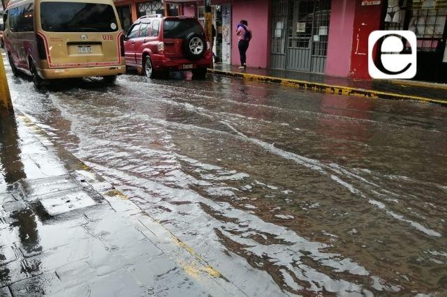 Reportan 11 afectaciones por lluvias en Huauchinango