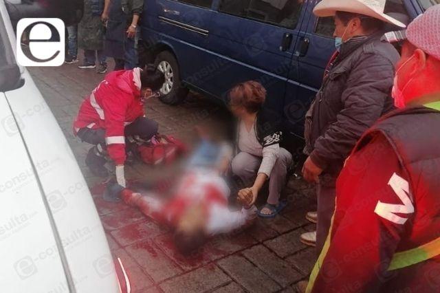 A balazos atacan a hombre en pleno centro de Huauchinango