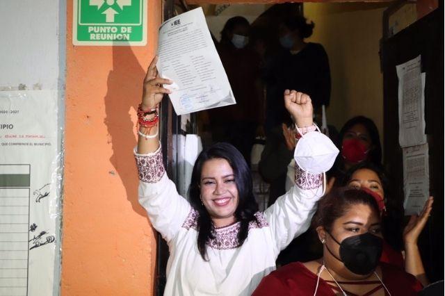Irene Olea la primera mujer electa para alcaldía de Izúcar