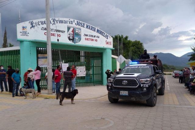 Cierran casillas en juntas auxiliares de Tehuacán sin contratiempos