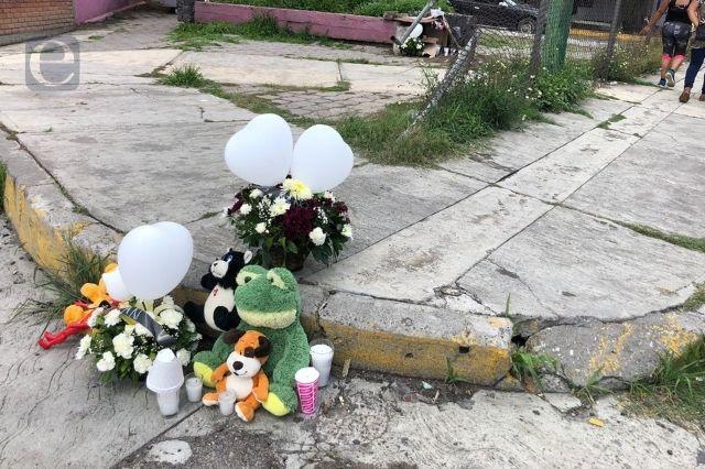 Exigen justicia por muerte de los menores Gian y Carlos en Atlixco