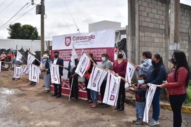Inicia Toño Teutli pavimentación de acceso a Ocotlán