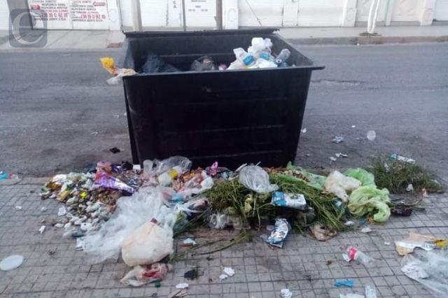 En menos de tres días recolectan más de mil toneladas de basura
