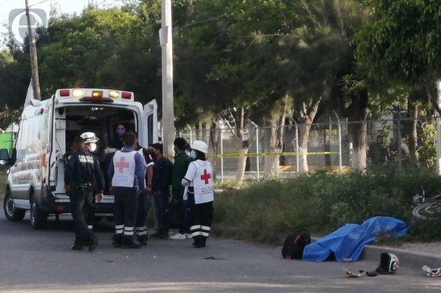 Muere motociclista tras arrollar a un perro en Tehuacán