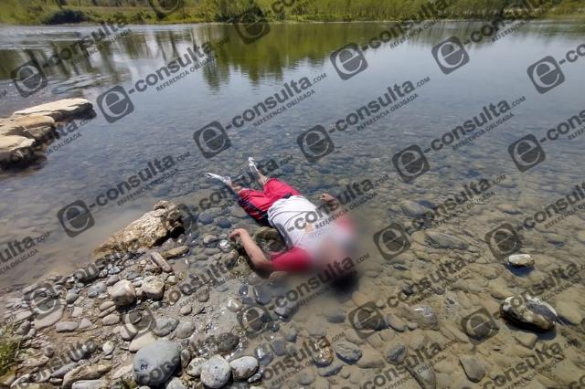 Menor muere ahogado en río San Marcos de Venustiano Carranza