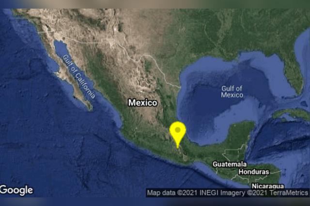 Sismo con epicentro en Oaxaca se percibe en Acatlán
